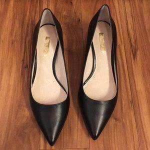 Louise et Cie - Black Pointed Toe Heels